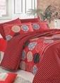 Eponj Home Tek Kişilik Nevresim Takımı Kırmızı
